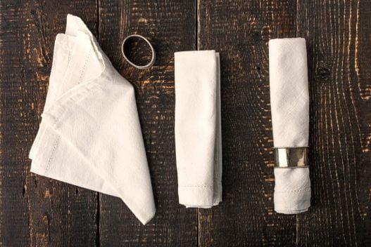 Servietter og servietringe